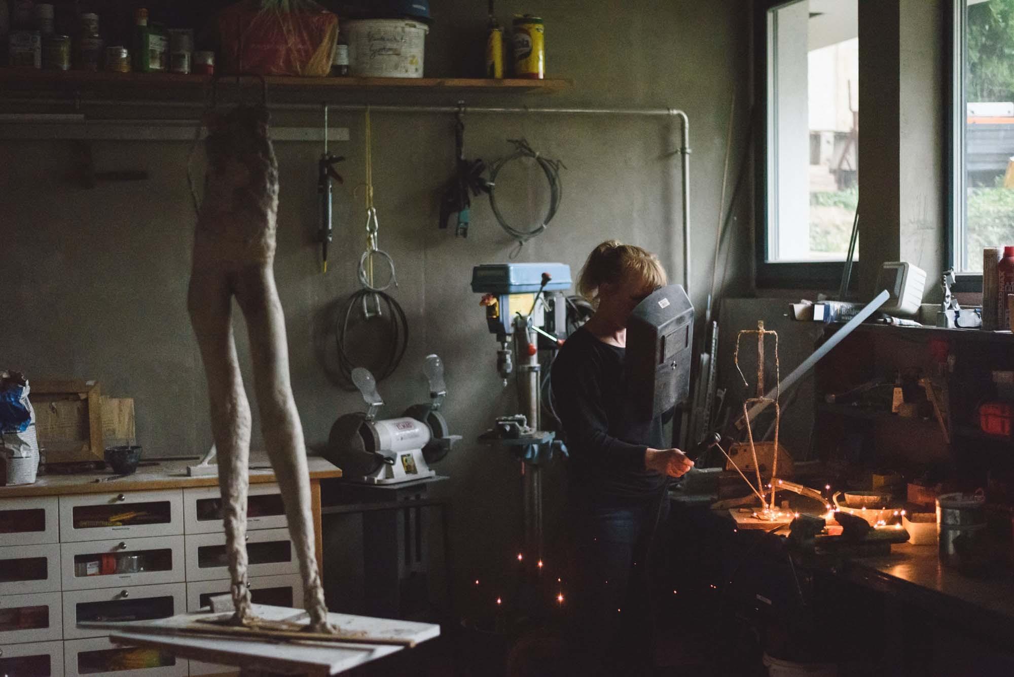 Life Bildhauerin 04