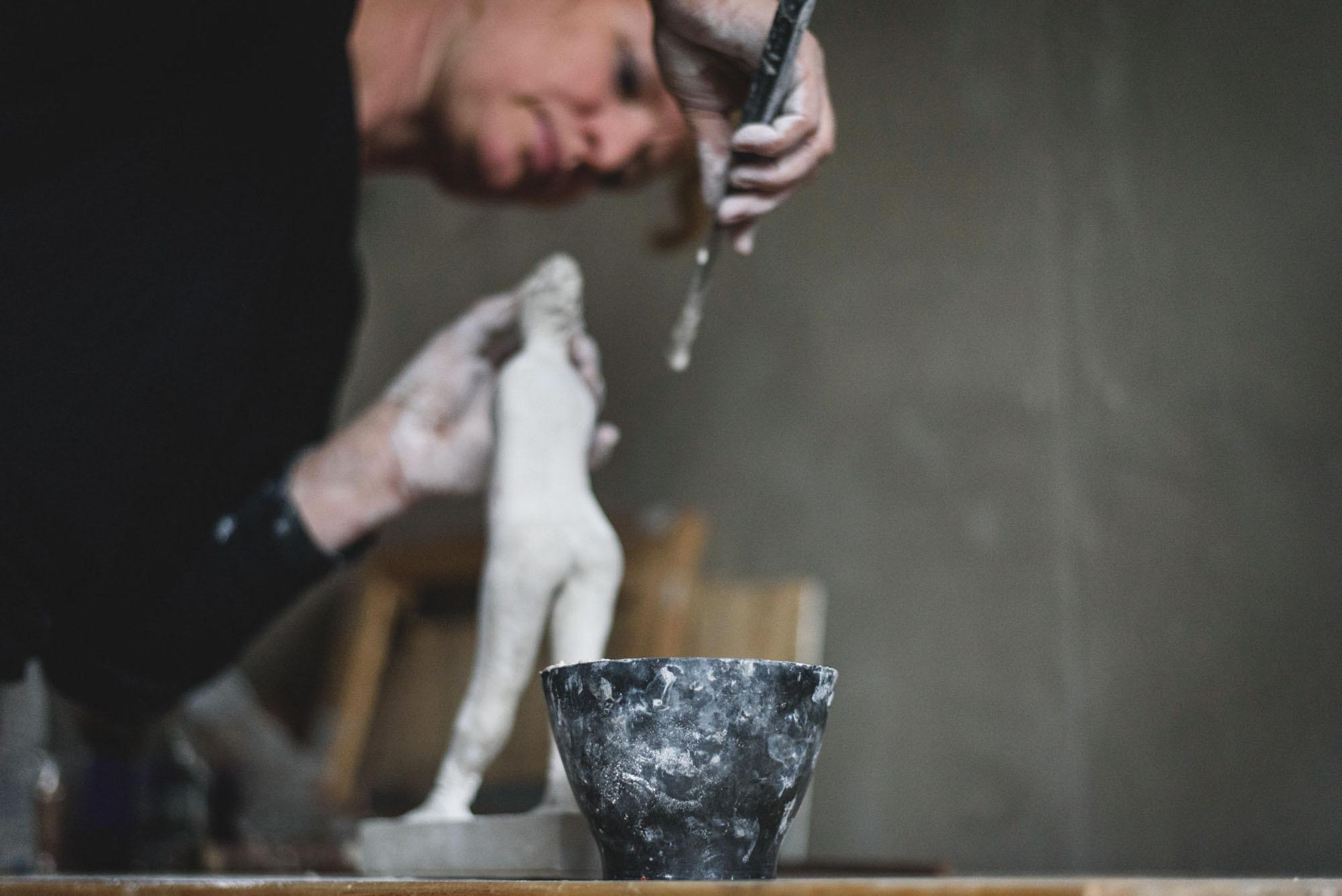 Life Bildhauerin 07
